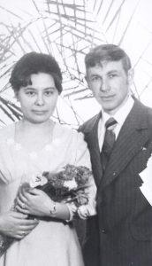 Тамара Владимировна Февралёва и Виталий Иванович Шекшуев